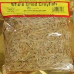 ground crayfish large bag  150g